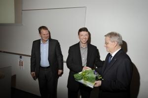 Úthlutun úr Starfssjóði Verkfræðistofnunar Háskóla Íslansd 2012.