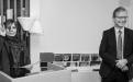 Katrín Jakobsdóttir, formaður stjórnar, tilkynnti styrkhafa og veitti viðurkenningar ásamt Jóni Atla Benediktssyni, rektor Háskóla Íslands.