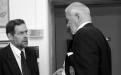 Páll Skúlason, fyrrverandi rektor HÍ, og Bent Scheving Thorsteinsson, stofnandi