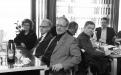 Frá fyrstu úthlutunarathöfn Styrktarsjóðs Áslaugar Hafliðadóttur. Dagný Kristjánsdóttir prófessor, Jón G. Friðjónsson, prófessor emeritus og Ástráður Eysteinsson, sviðsforseti Hugvísindasviðs.