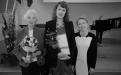 Útútun úr RIM 2013. Ingibjörg R. Magnúsdóttir, stofnandi sjóðsins ásmt Margréti Gísladóttur styrkhafa og Erlu Kolbrúnu Svavarsdóttir, prófessor og formanni stjórnar.