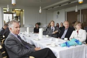 Frá úthlutun úr Verðlaunasjóði Óskars Þórðarsonar læknis, í Norræna húsinu 4. júní 2013.