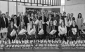 Styrkþegar ársins 2015 og stjórn sjóðsins ásamt rektor Háskóla Íslands og forstjóra Happdrættis Háskóla Íslands.